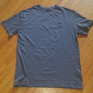 Joel Vrymoet We're All Doomed T-Shirt | XL